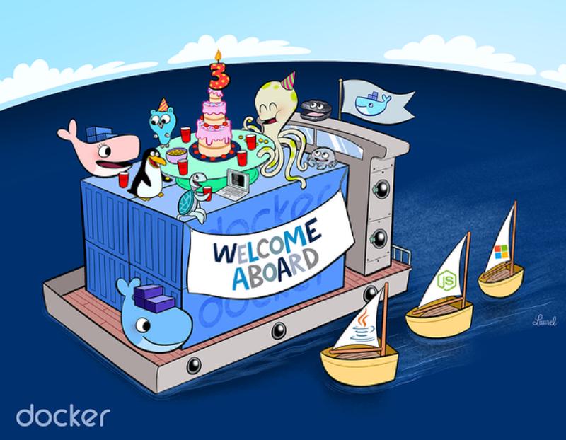 Juhlimme 3-vuotiasta Dockeria – tule mukaan