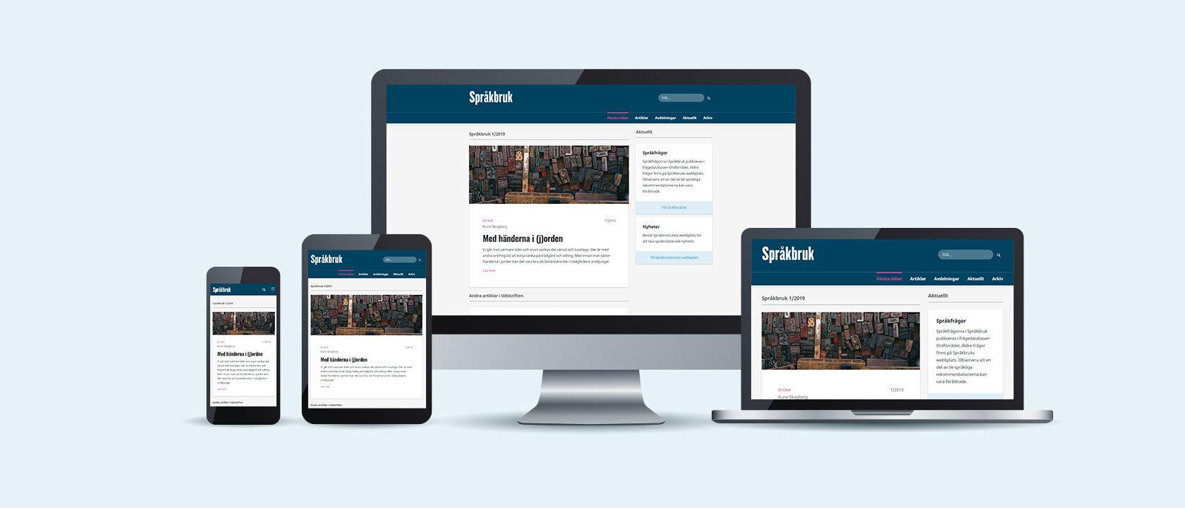 Språkbruk.fi, Kielikello.fi:n sisarsivusto samassa portaalissa