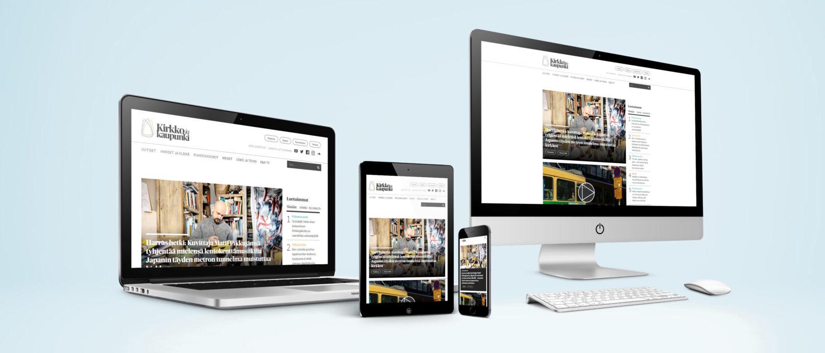 Kirkkojakaupunki.fi -verkkomedia rakentui Liferay Portal 7.0 CE:lle