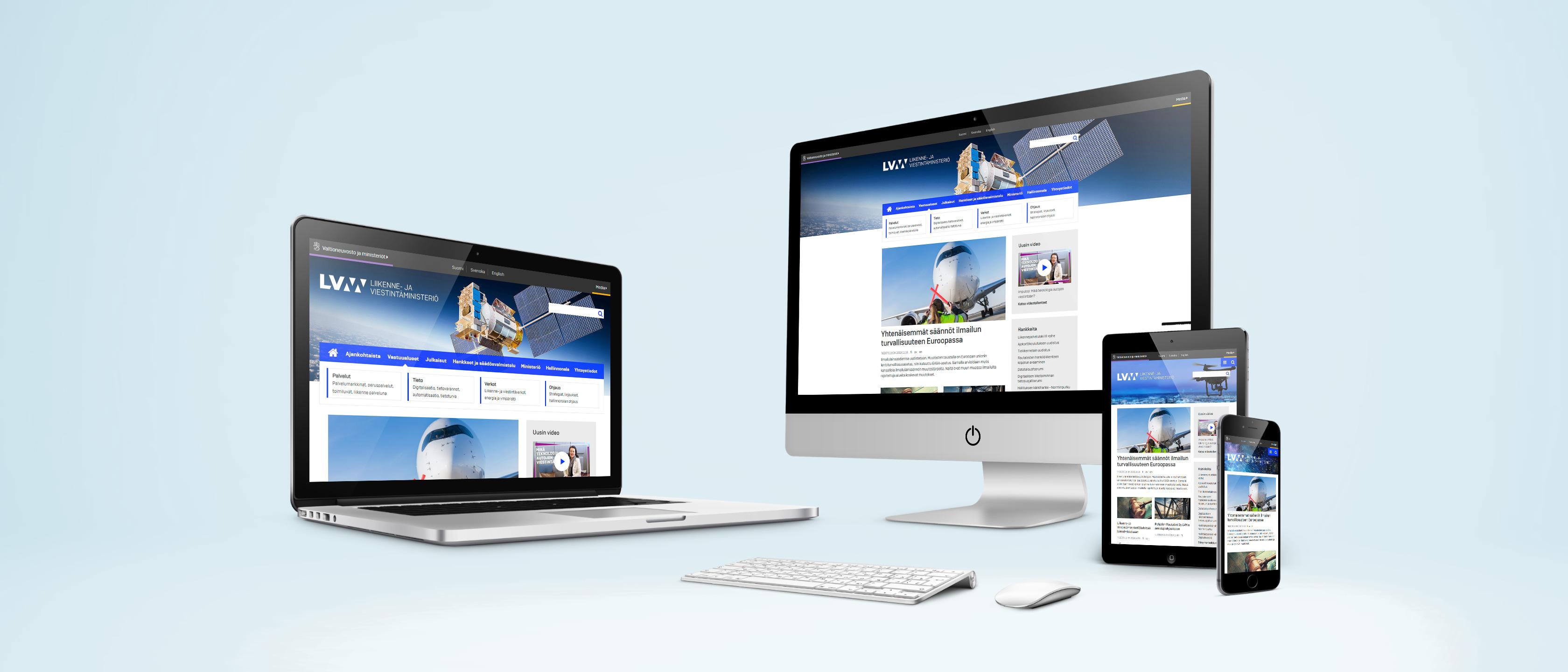LVM.fi viestii integroidusti Liferay Portal CE:llä, esteettömästi