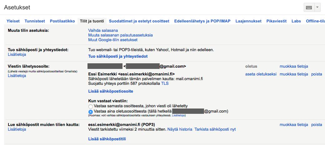 Nyt voit käyttää Gmailia sähköpostin lähettämiseen omalla domainillasi