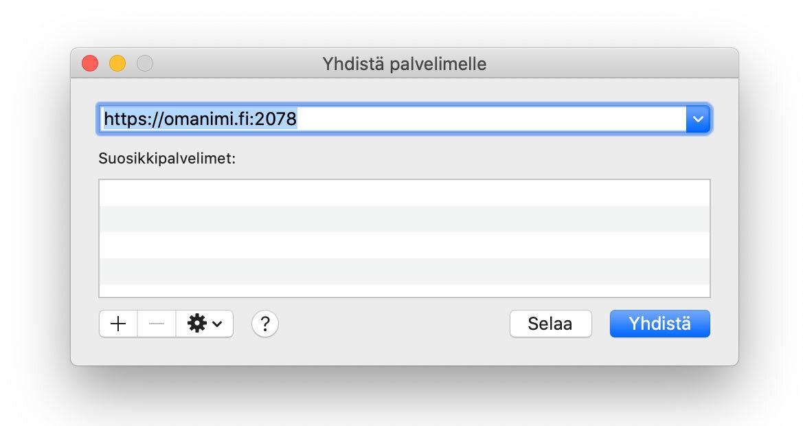 Korvaa omanimi.fi omalla verkkotunnuksellasi