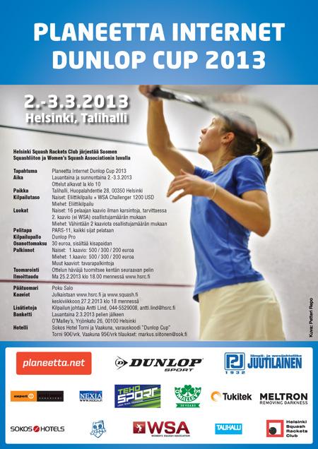 Planeetta Internet Dunlop Cup 2013 juliste
